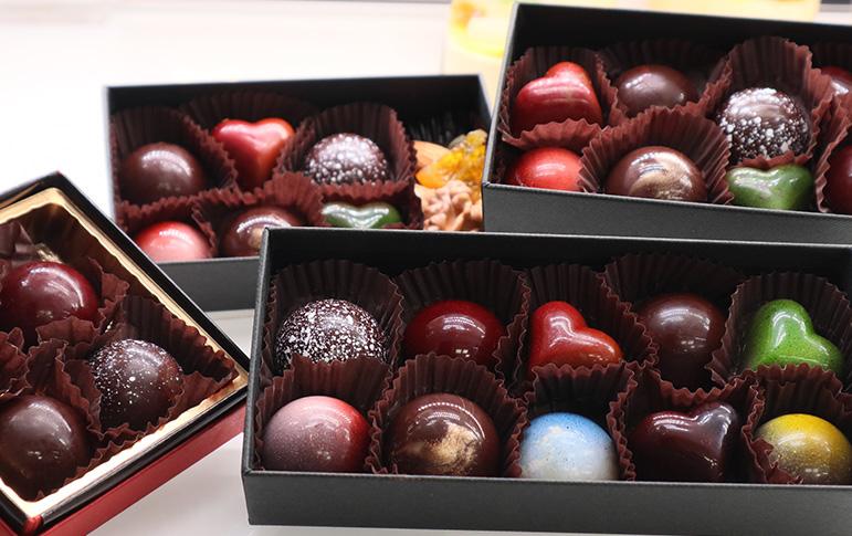 チョコレートのアソート お作りしています。のイメージ