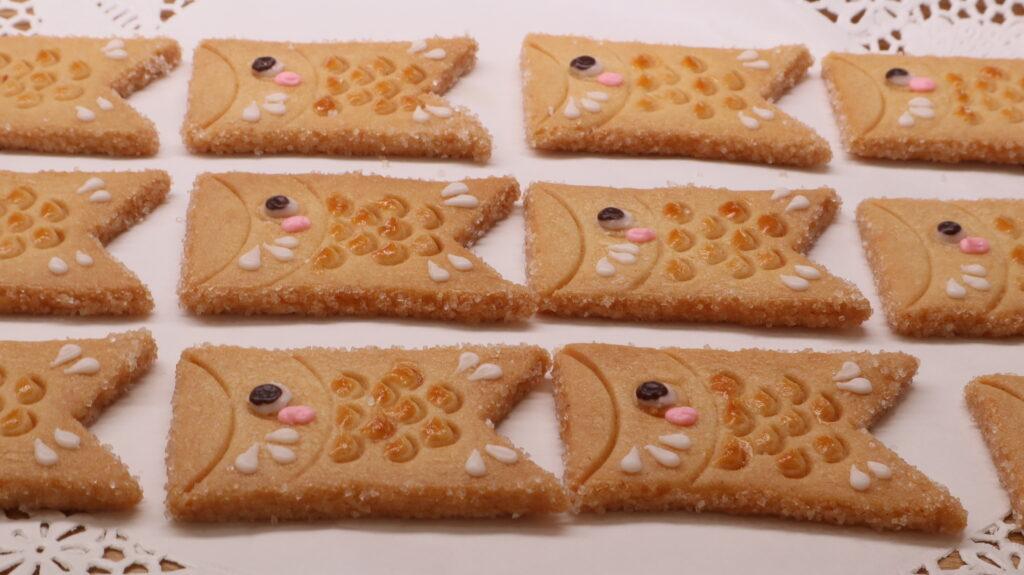こいのぼりクッキーのイメージ