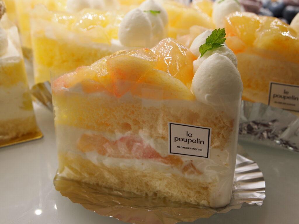 季節のショートケーキ 桃のイメージ